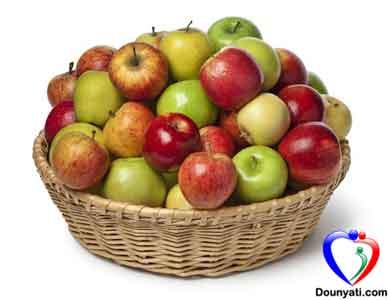 فوائد التفاح في انقاص الوزن