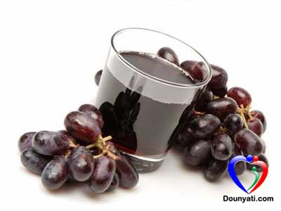 فوائد عصير العنب