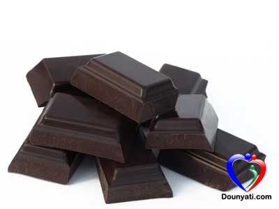 فوائد الشوكولا المرة او السوداء