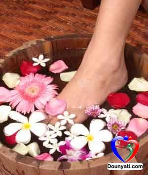 علاج انتفاخ القدمين بالطرق الطبيعية
