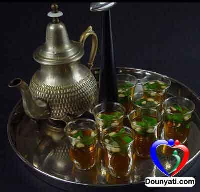 طريقة عمل الشاي المغربي