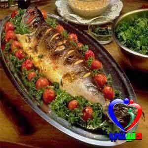 طريقة تحضير السمك المحشي بالفرن